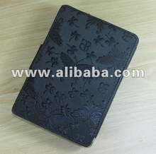 Fashion original leather case for Amazon Kindle Touch
