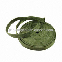 Olive Green Military Woven Cotton Webbing, Suitable for Canteen Use