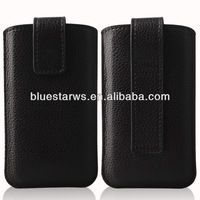 Hot Sale! Luxury PU Leather For Iphone5 mobile phone accessoires