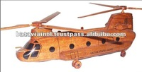 High Quality Handmade Helicopter Children Wooden Toys