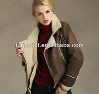 Winter Newest Ladies Fake Leather Jacket