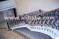 Wrought Iron Handrail & Staircase