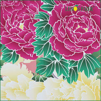 Lemonpaier Flower Printed Polyester Fabric
