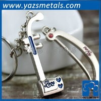 customize metal serrated key chain, custom keychain with personal design
