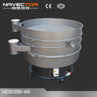 flour ultrasonic vibrating sieve for sieving and grading