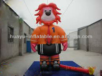 2013 popular advertising inflatable lion model
