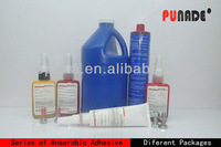 anaerobic threadlocker Compound/Adhesive/sealant/clear glass bottle with screw cap