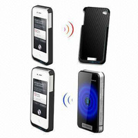 Novelty Wireless Portable Charger for iPhone, 5,000mAh, Li-polymer Battery