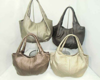Ladies fake designer bags china tote type for ladies made from PVC fabric