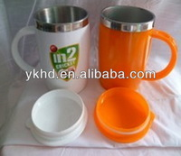 Design best sell ceramic mug without handle