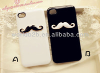 3D Cute mustache for Iphone5 Hard case Cover NEW