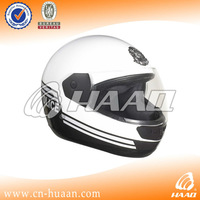 White ABS and PC Winter motorcycle police helmet