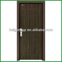 teak wood door design BG-P9006