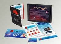 Business cards, Letter Heads, Envelops, Brochures, Stickers, Stamps, T-shirts, Gifts,