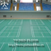 High Quality Anti-Slippery Vinyl Flooring For Badminton Court