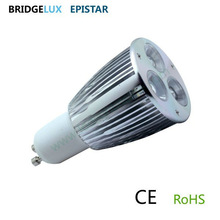 cheap gu10 led light bulbs 3x2w