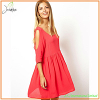 Made in China cheap high quality new design women cotton clothes 2013