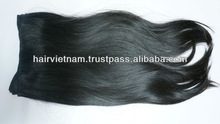Best Quality Cheaper Price Virgin Straight Single Drawn Weft Hair With Glue