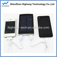 UNIVERSAL power universal mobile phone solar charger 1000MAH manufacturer