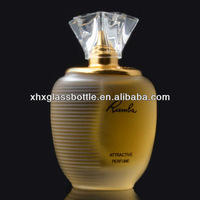 Colonge attractive perfume glass bottle with fragrance