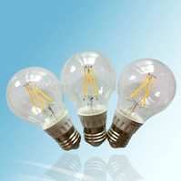 A19 A60 filament led light cob bulb E27 4w