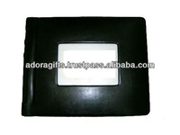 ADAPAC - 0003 leather photo album with frame covers / 5x7 photo album cover / leather photo album book cover