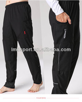 Simple style polyester fabric men's bike pants