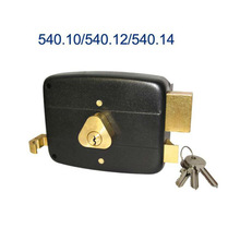 promotional hardware of mortise door lock with brass cylinder lock match for furniture lock in Libya market