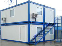 Prefabricated HOUSES , Office Containers