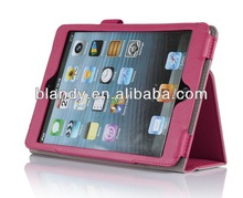 2014 New arrival hot pu stand case for ipad mini 2