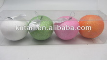 Cheap popular wholesale apple christmas ball ornaments