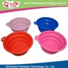 2013 New arrival silicone pet dog bowls for promotional