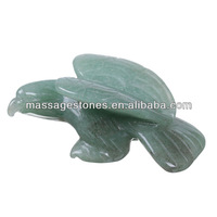 Gemstone eagle figurine/carved stone birds