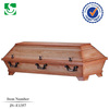 Germany style standard fe handle with professional decoration lining for funeral coffin