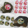 Printing Epoxy Resin Dome Stickers 3D PU Sticker