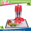 New Design Red 13.5 Inche Silicone Cook Utensils For Kitchen Set Of 6 Western Style