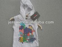 kids tops caual clothing with hoodie