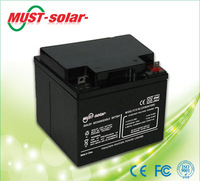 <MUST Solar>AGM /Sealed Lead Acid batteries 12v 12Ah for UPS used