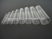 clear plexiglass tube