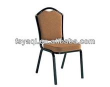 Modern design metal steel cheap price stackable aluminum hotel banquet chair YA-D031