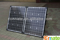 180W solar foldable A grade cell panel with TUV approval