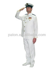 latest white yacht captain uniform in 2014