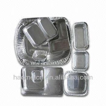 Bandejas de aluminio para horno