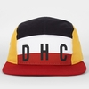 2013 Multi color snapback hat 5 panel flat brim hat