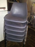 USED CLASSROOM CHAIRS (12 PCS)