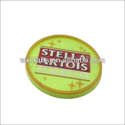 soft pvc rubber ab coaster