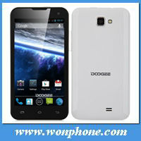 DOOGEE DG200 4.7 inch Cheap Smart phone with MTK 6577 dual core 3G WCDMA