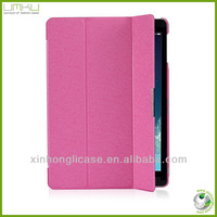 magnet smart cover for ipad 5,3 folding magnet leather cover for ipad 5