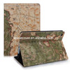 Map print standing for iPad Mini Retina case