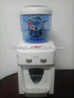 mini cooler water dispenser,hot and natural counter top pipeline water dispenser
